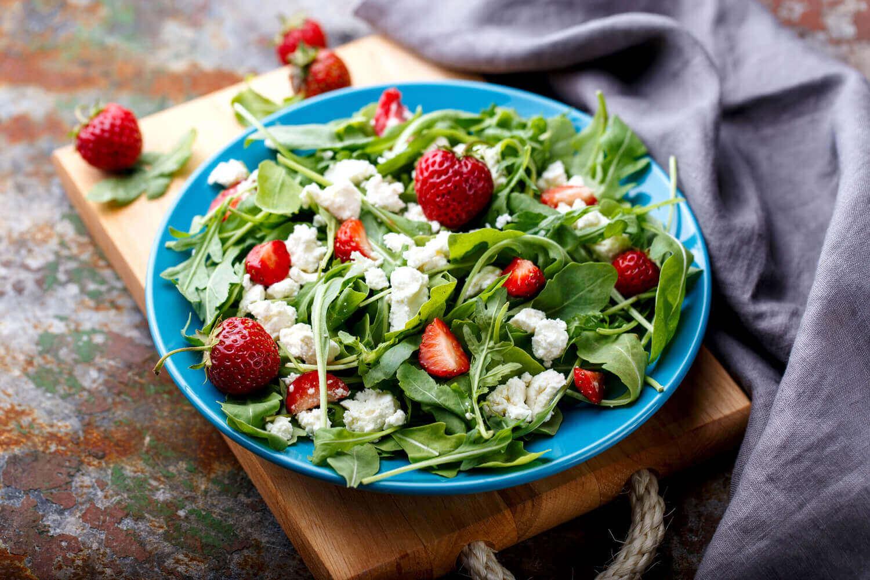 cotton cheese salad