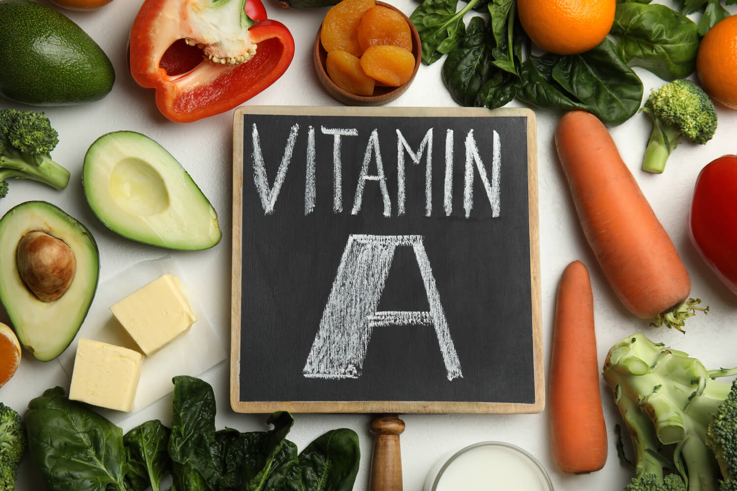 vitamin A fruits and vegetable