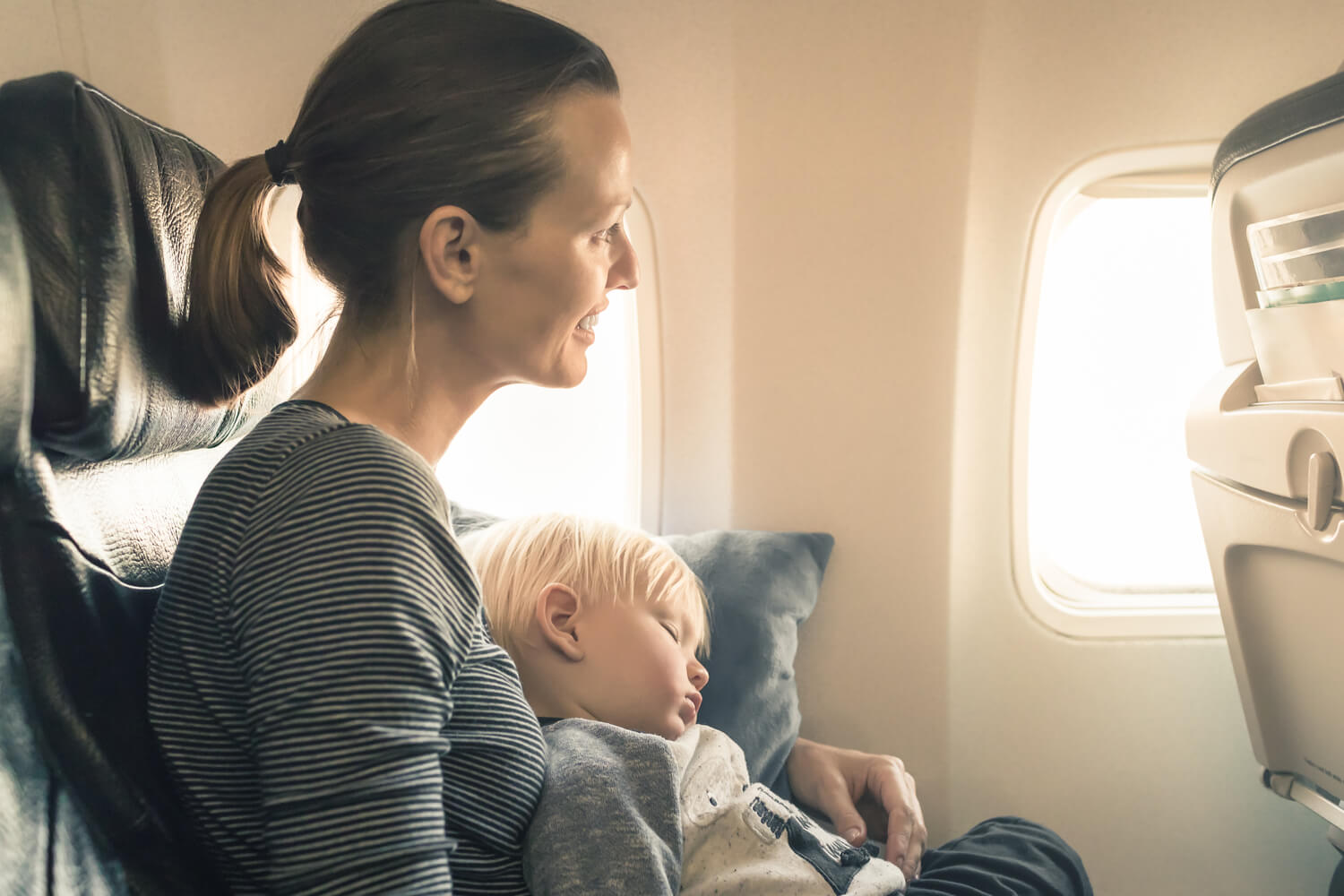 Flying With A Toddler: Tips & Tricks