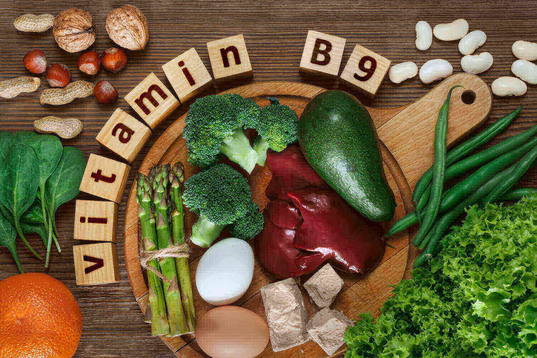 food rich in Vitamin B9