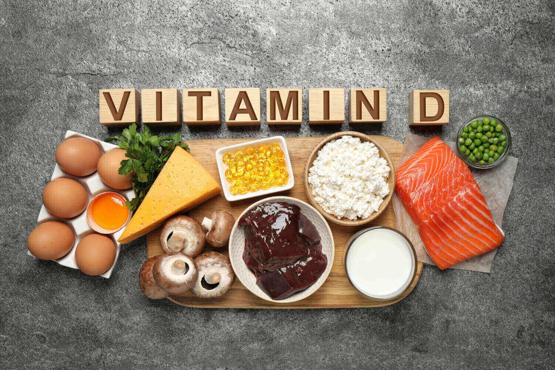food rich in Vitamin D