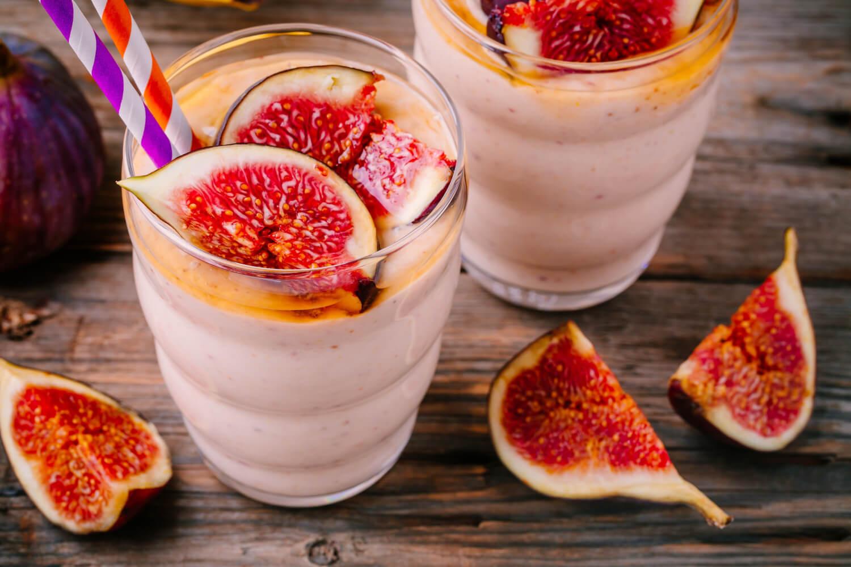 fig milkshake