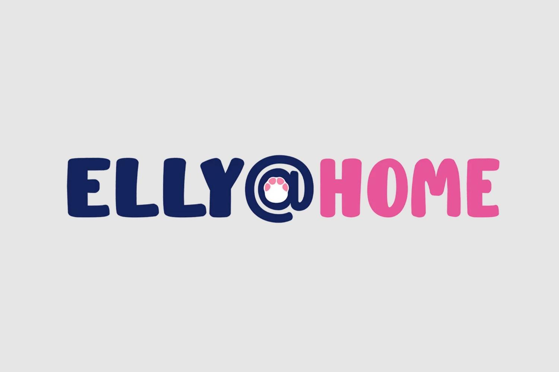 Elly@Home Logo
