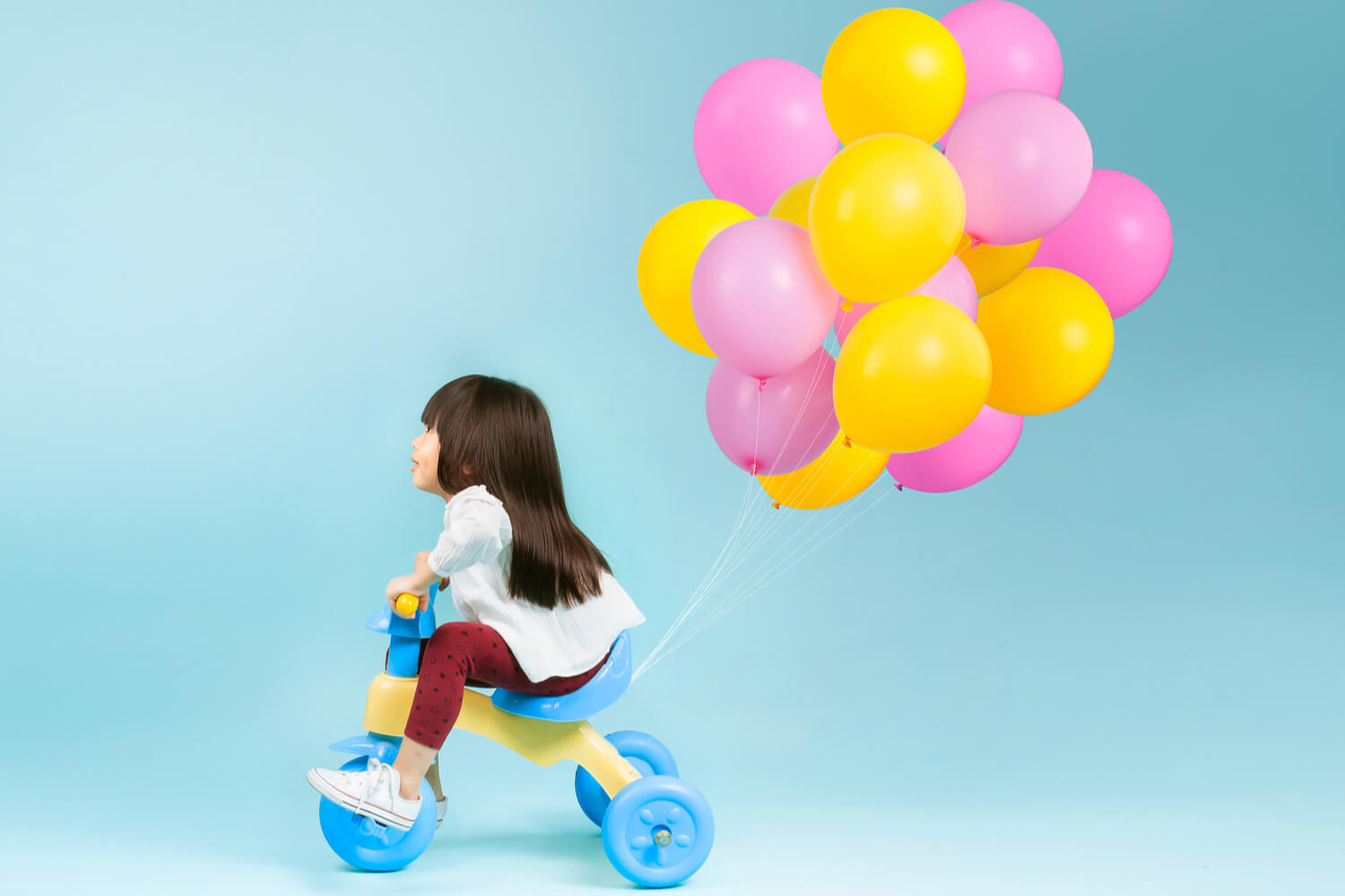 girls tricycle  as birthday gift