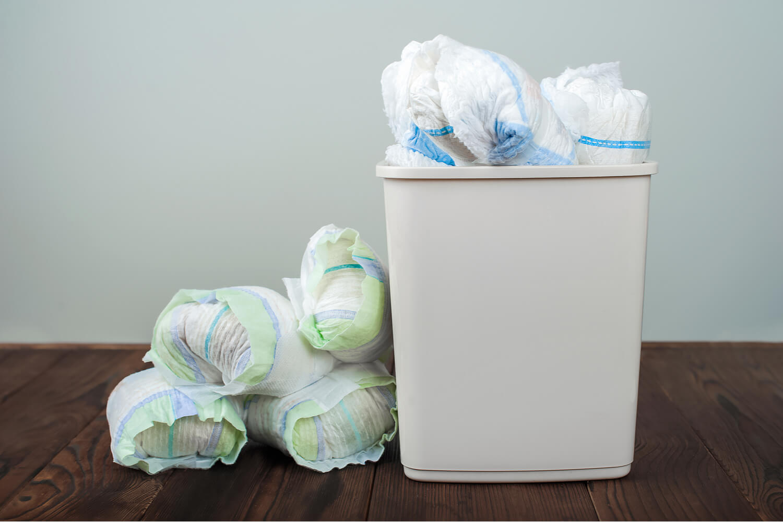 diaper waste